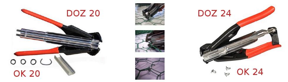 Clesti cu inele metalice rotunde